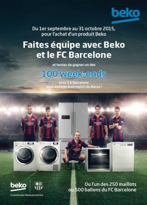 beko ouvre les portes du fc barcelone et de son stade mythique neomag. Black Bedroom Furniture Sets. Home Design Ideas