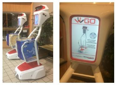 Vid o auchan et intermarch testent des chariots robots - Chariot de course auchan ...