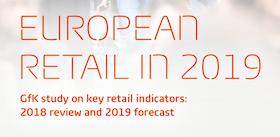 Distribution en Europe : les prévisions de chiffre d'affaires 2019 de GfK