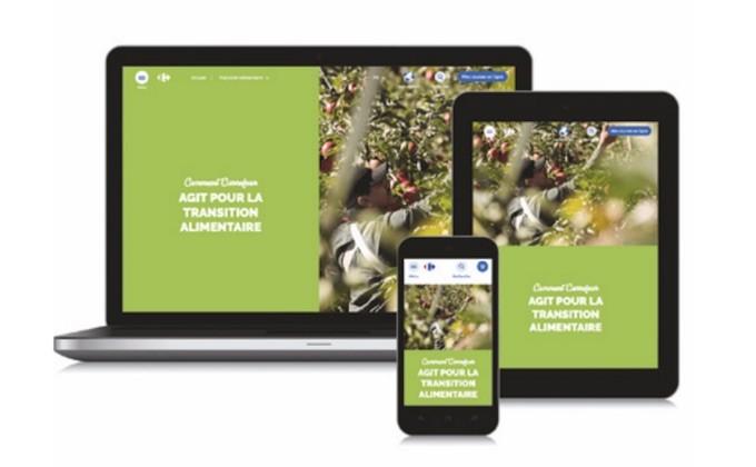 Carrefour fixe de nouveaux objectifs pour son indice RSE et Transition Alimentaire