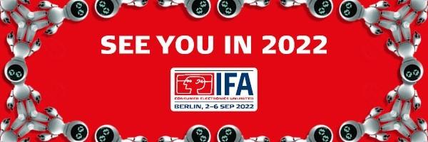 IFA 2021 finalement annulé, rendez-vous pris en 2022