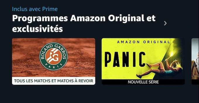 Amazon : foot, ciné et cheval de Prime