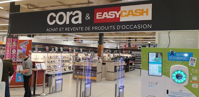 Easy Cash ouvre le marché de l'occasion aux hypers et aux centre-villes