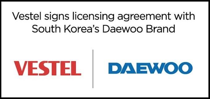 Vestel prend la licence de la marque Daewoo en électroménager et en TV