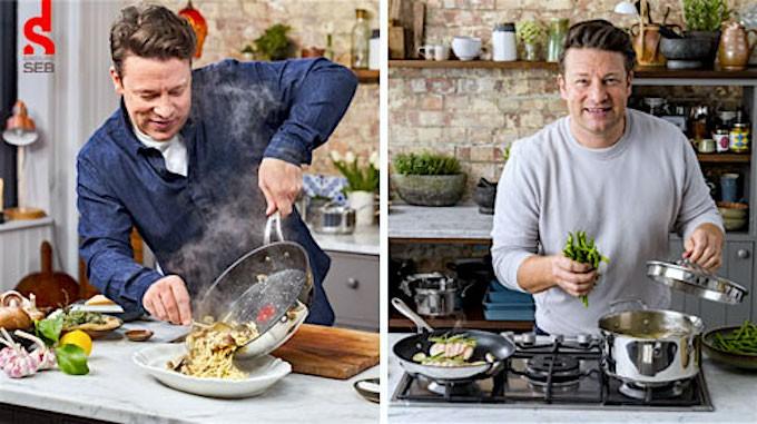 Petit électroménager : Groupe Seb renforce son partenariat avec Jamie Oliver