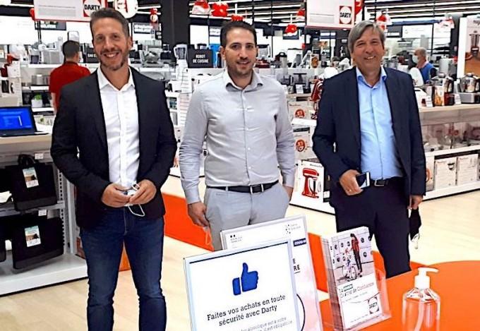 En Bordelais, Benjamin Pourailly et Nicolas Ribeiro ouvrent leur 9ème Darty en franchise