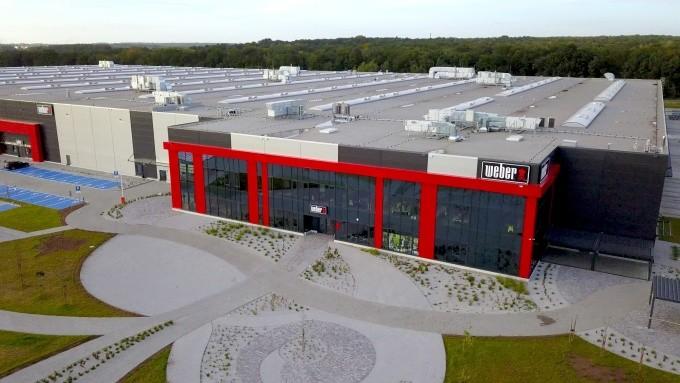 Weber ouvre son premier site de production et de distribution en Europe